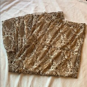 Candie's Snakeskin Print Maxi Skirt